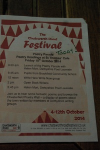 Poetry Parade Programme